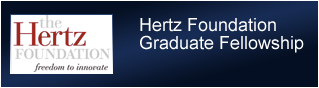 Hertz Foundation Graduate Fellowship
